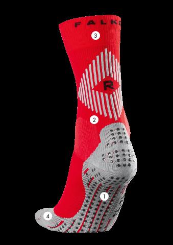 Falke 4 Grip Socks White 1 2 or 3 Pair plus Falke Hat Free
