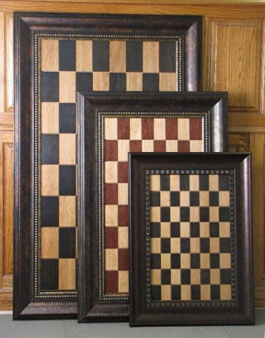 Straight Up Chess Vertical Chess Boards