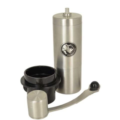 Rhinowares Coffee Grinder with Adaptor for AeroPress