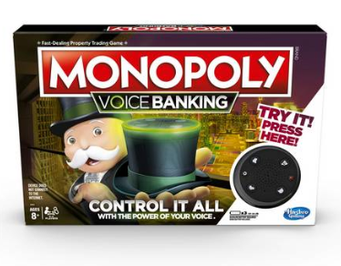 The Monopoly Voice Banking game