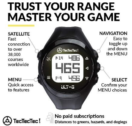 The ULT-G Golf GPS Watch by TecTecTec
