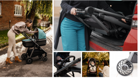 The Ark 3 in 1 travel system pushchair