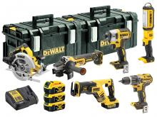 DEWALT ®  DCK623P3-GB 18v 3x5.0Ah Brushless Compact 6Pc Kit