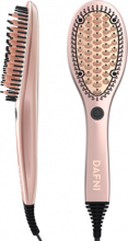 DAFNI Rose Gold: Hair Straightening Ceramic Brush