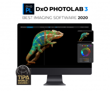 DxO PhotoLab 3 was awarded the 2020 TIPA Award for Best Imaging Software