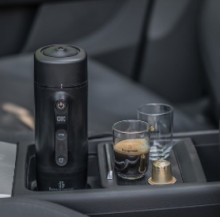 Handcoffee Auto 12V and the Handpresso Auto Capsule by Handpresso