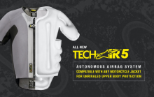 ALPINESTARS – LAUNCHES TECH-AIR® 5: THE NEW GENERATION OF AUTONOMOUS ELECTRONIC AIRBAG SYSTEMS