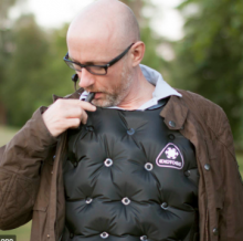 Lightweight inflatable Air Gillet by Exotogg